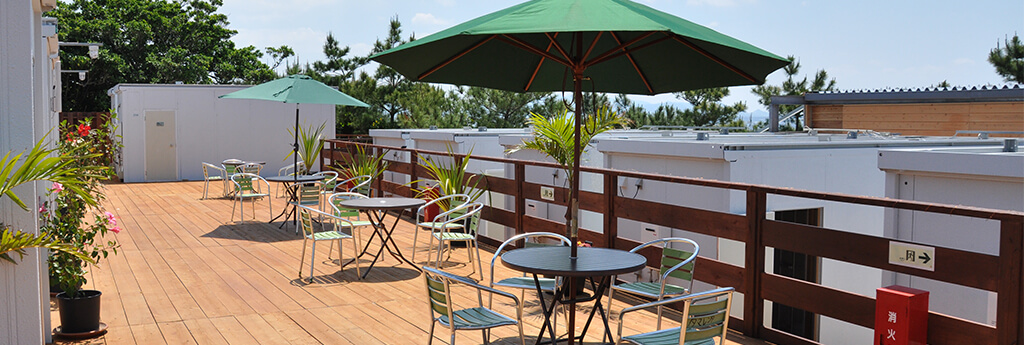 伊江島で民宿をお探しなら | 伊江島ホテル&コテージ こころハウス