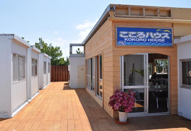 伊江島ホテル&コテージ こころハウスの外観
