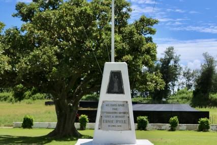 アーニー・パイル記念碑